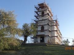 Pécs-Havihegyi-Templom-állványozás-