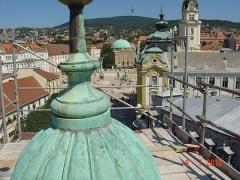 Pécs-Irgalmasok-Templom-állványozás-2-