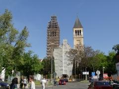 Pécs-Pius-Templom-állványozás-5-