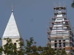 Pécs-Pius-Templom-állványozás-7-