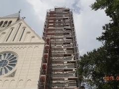 Pécs-Pius-Templom-állványozás-8-