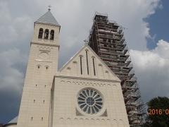 Pécs-Pius-Templom-állványozás-9-