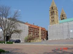 Pécs-Püspöki-Palota-állványozás-