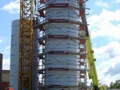 Pécs - Fekoral Kft. - siló építés
